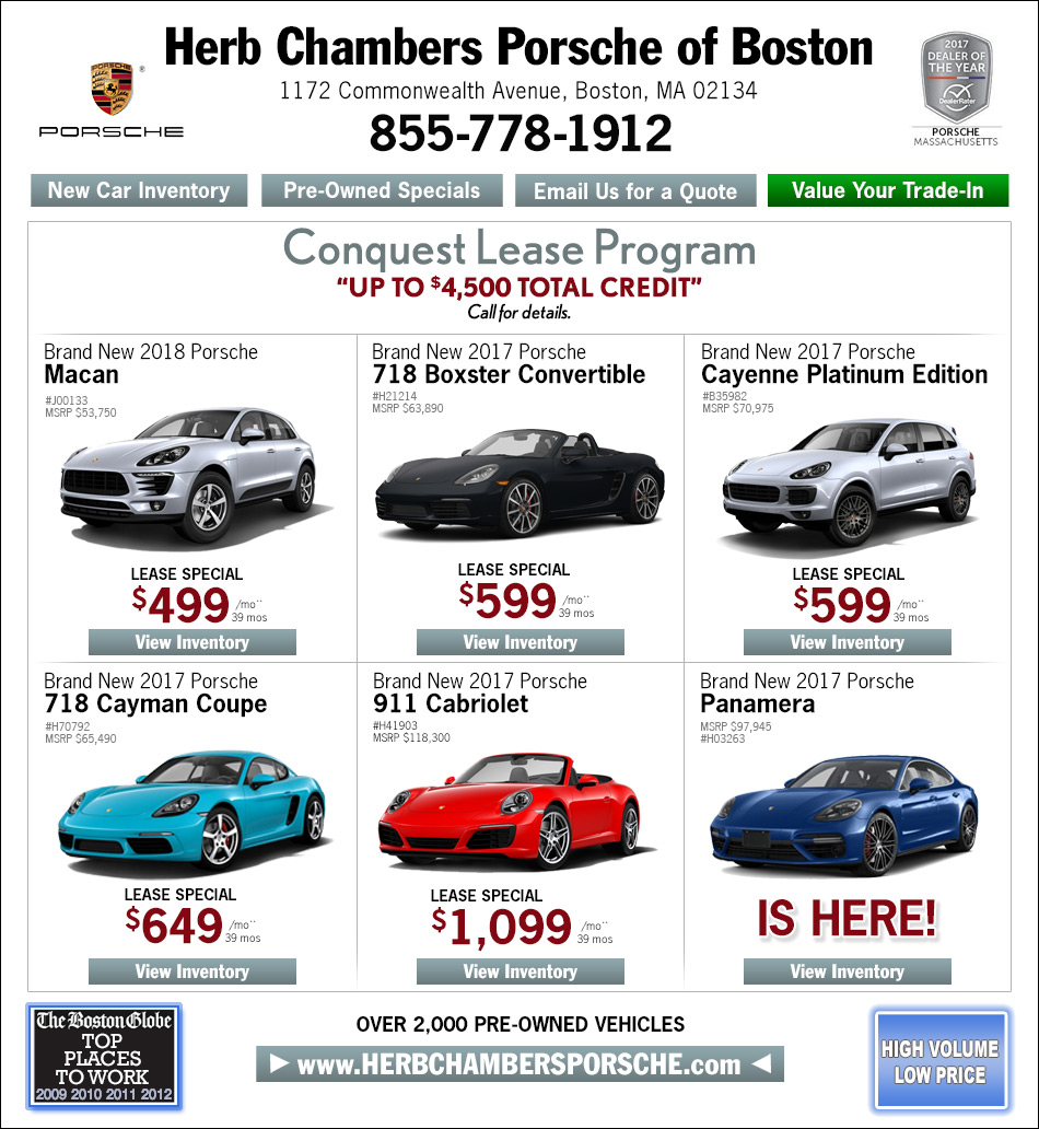 Porsche Dealers Boston