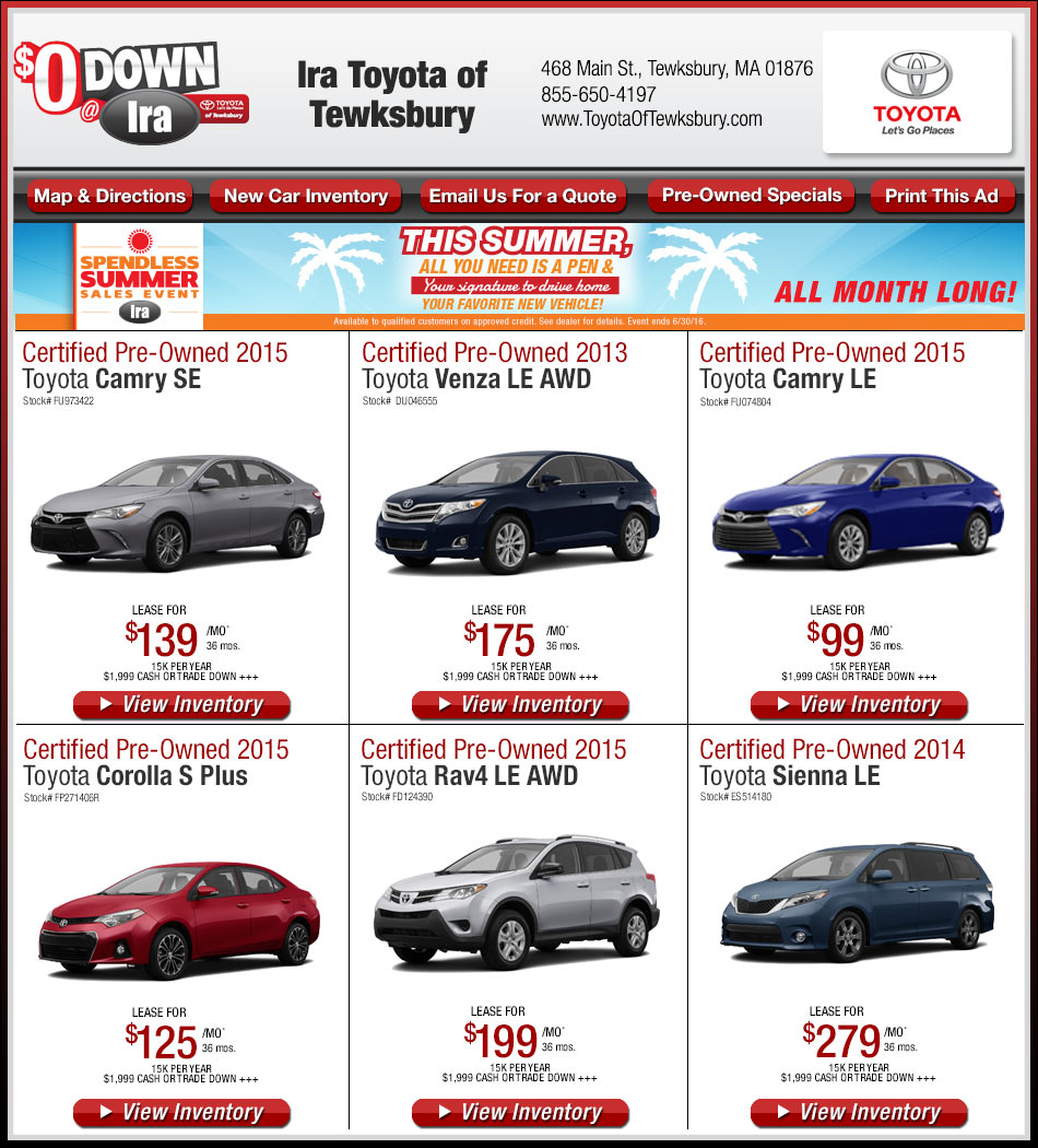 niagara falls toyota lease new days disclaimers on red dealership tag htm autoline in