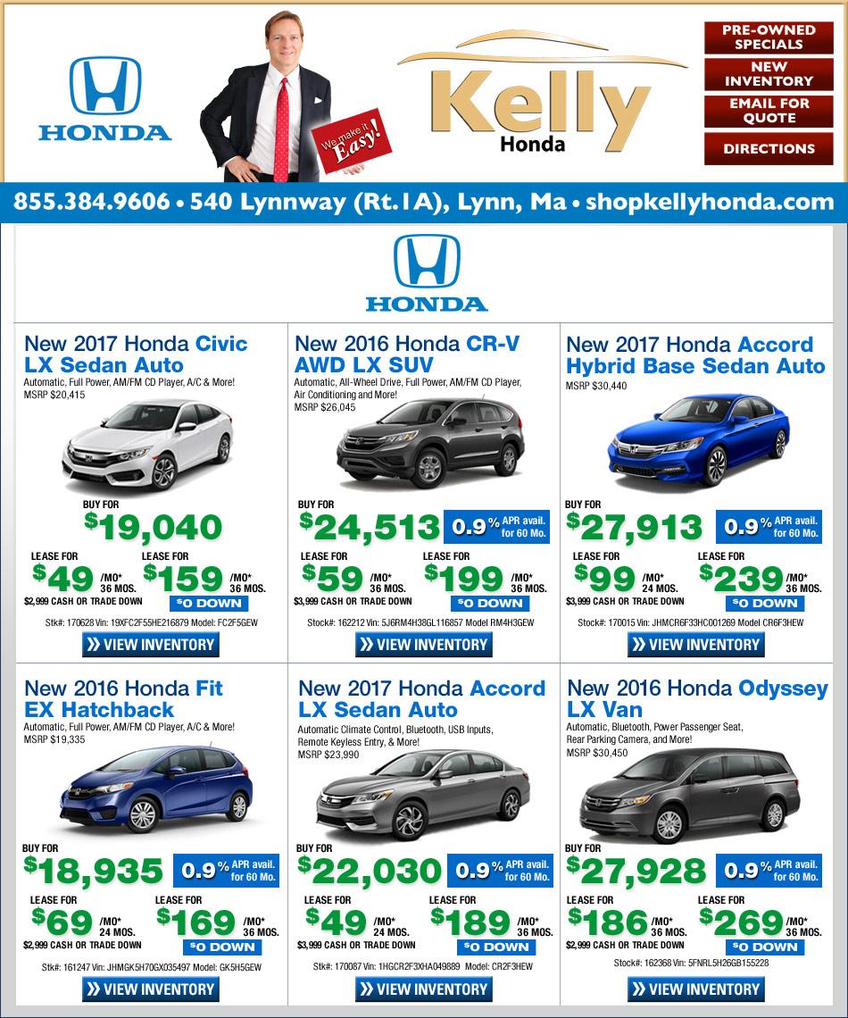 Kelly honda of lynn shop our internet specials for your for Honda lynn ma