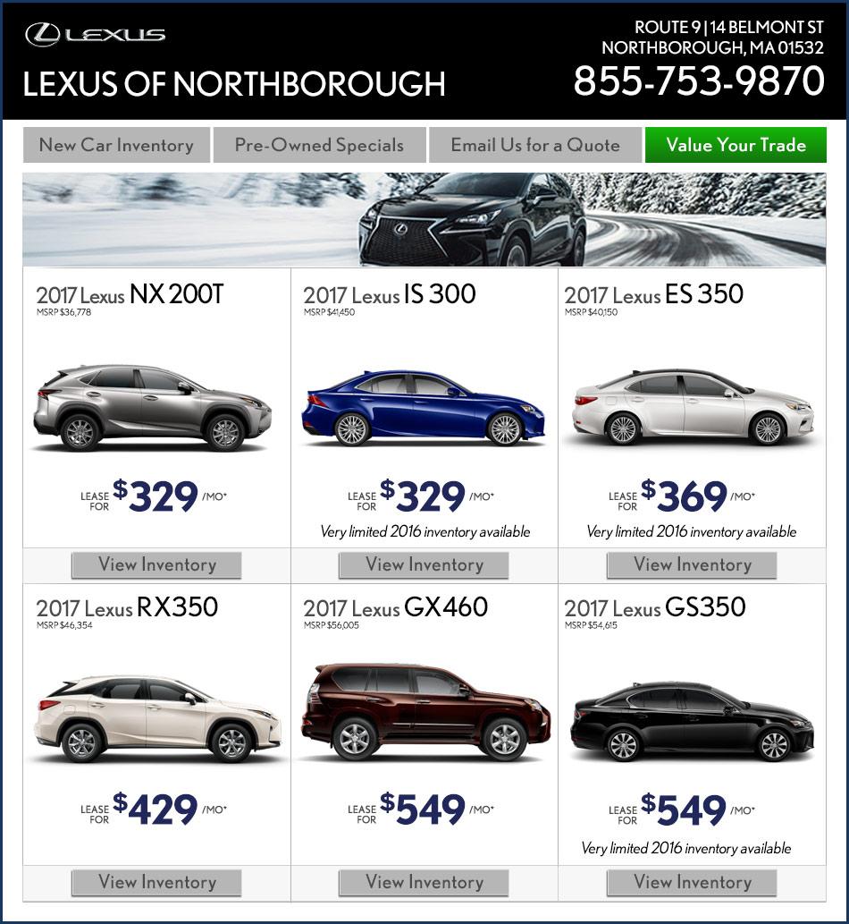 Lexus coupon service