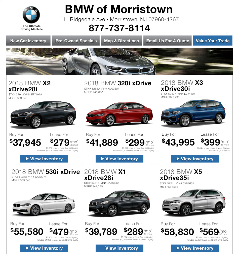 Open Road BMW Of Morristown