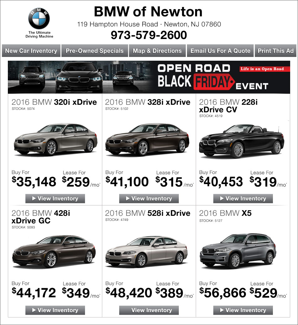 BMW Of Newton >> Bmw Coupons Nj Camaro Coupons