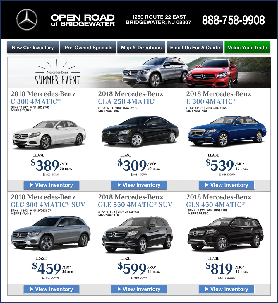 New Jersey Mercedes-Benz Dealers