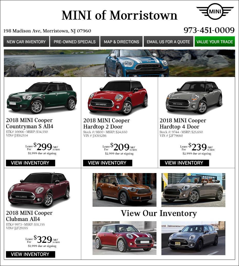 Open Road MINI Morristown