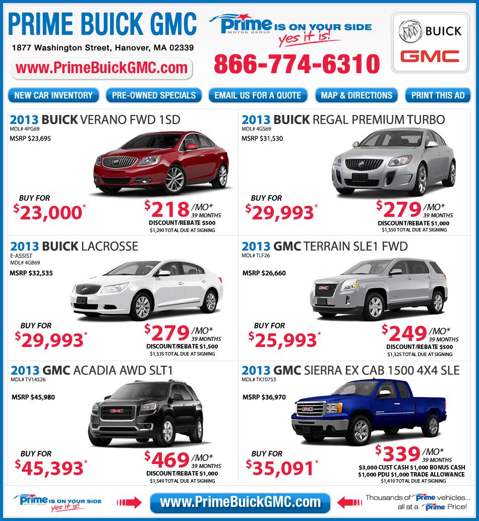 Buick Deals
