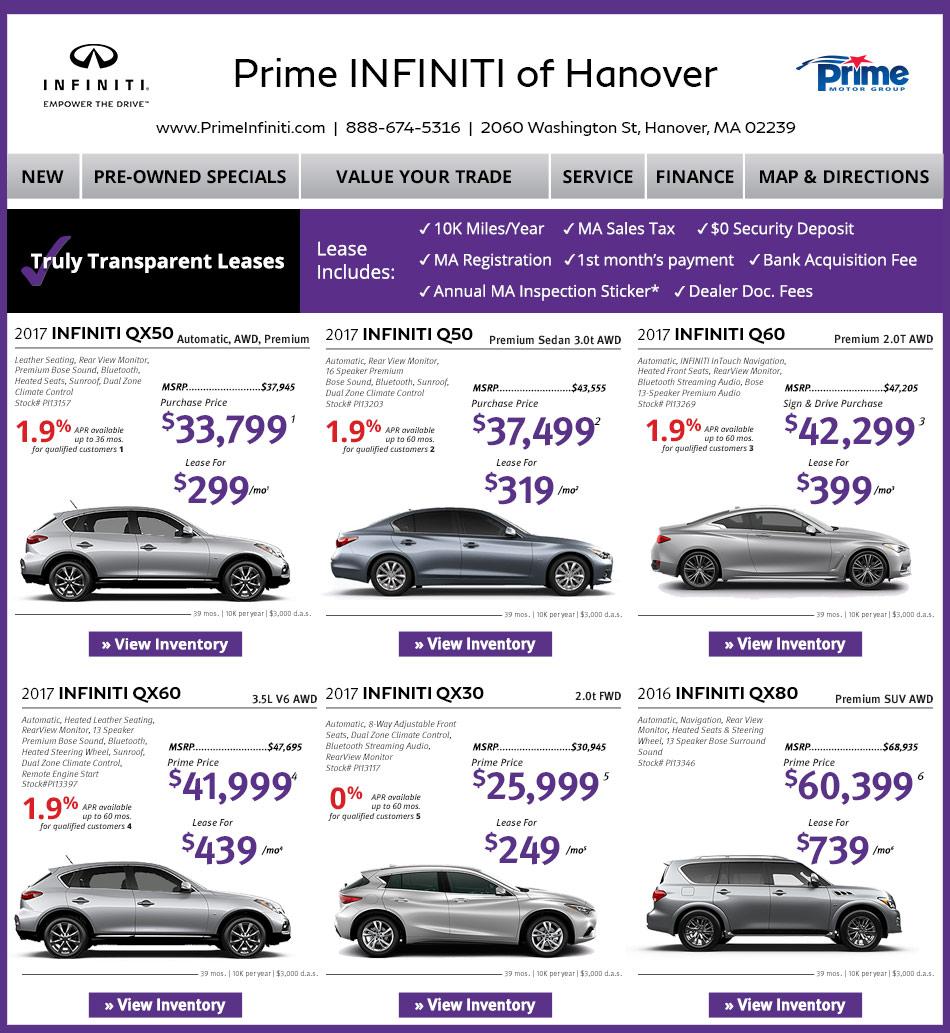 Prime Infiniti Dealers