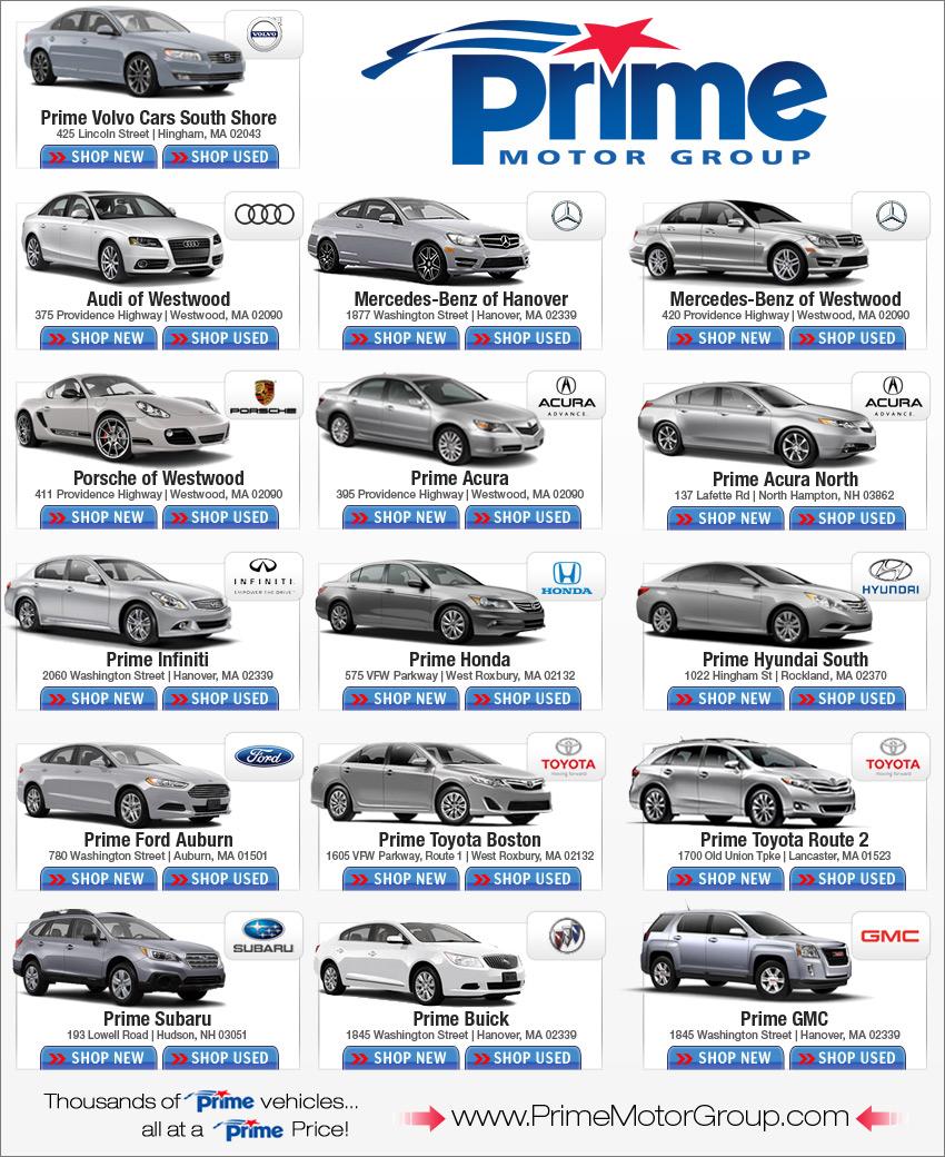 Prime Motor Group New Car Deals