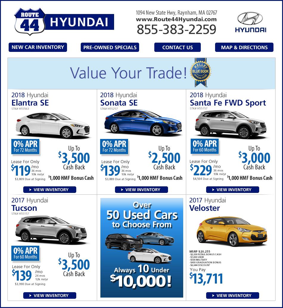 New Hyundai Lease Buy Rte 44 Hyundai In Raynham Ma On
