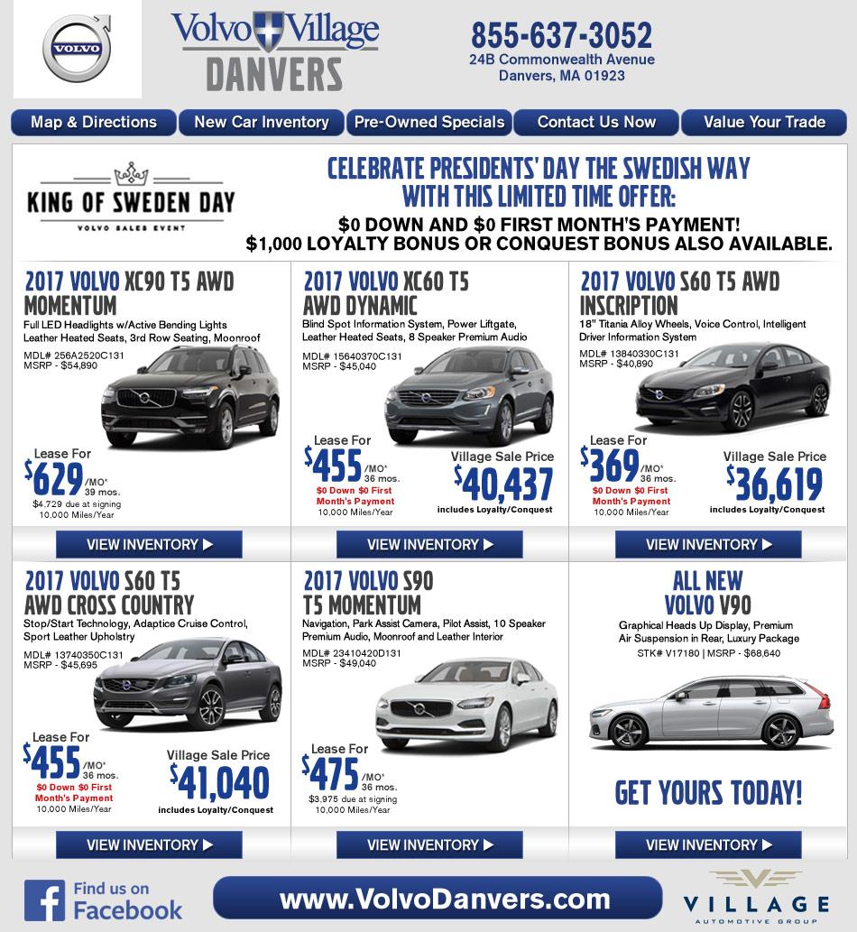 Volvo Dealers Pa: Danvers, MA Volvo Dealership : Volvo Village MA New Car Deals