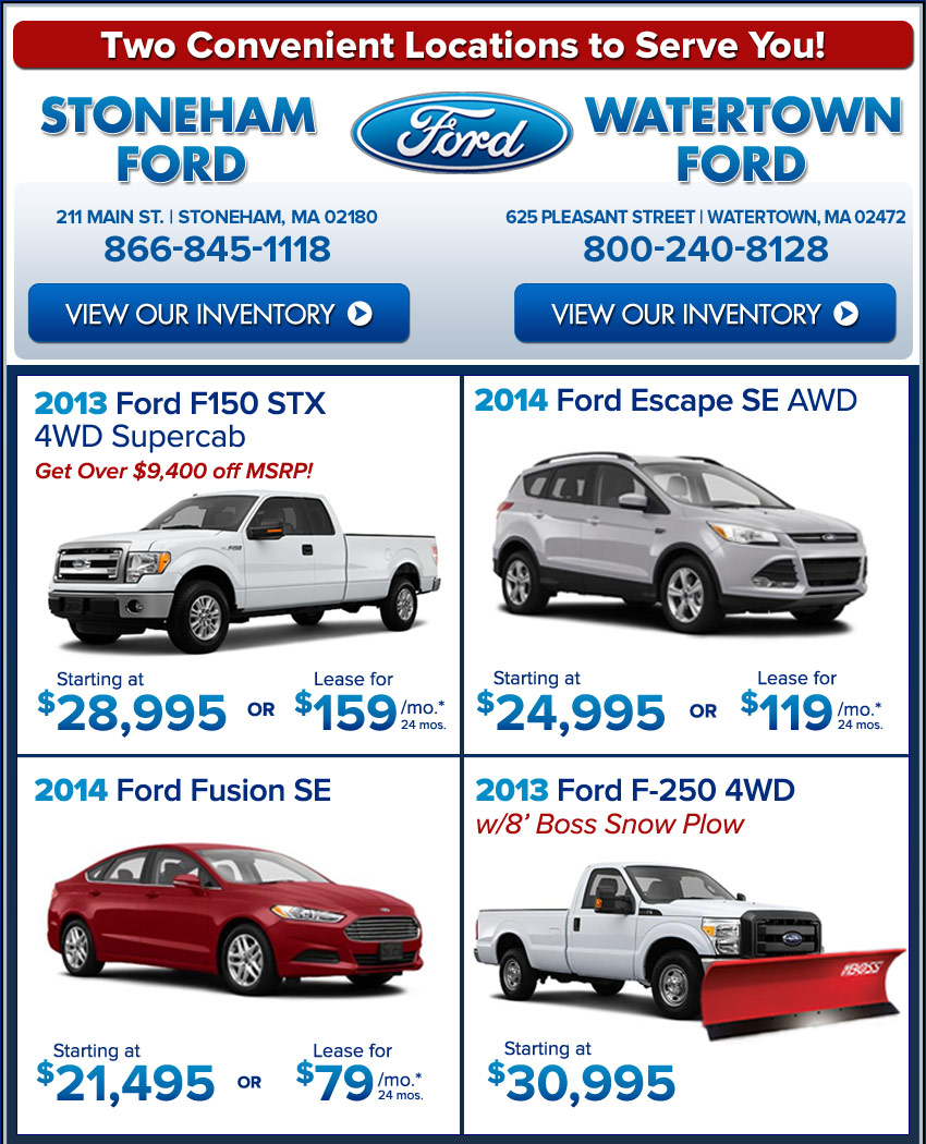 Boston Car Lease Offers