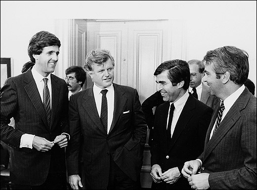 Kerry, Ted Kennedy, Dukakis, Tsongas
