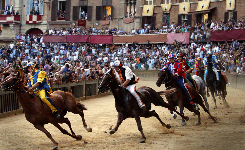 Italy S Palio Di Siena Horse Race Bodybuilding On Venice Beach And The Tough Guy And