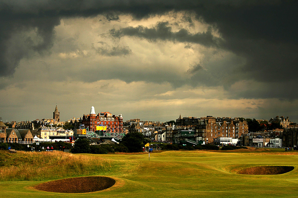 how do you play the old course at st andrews