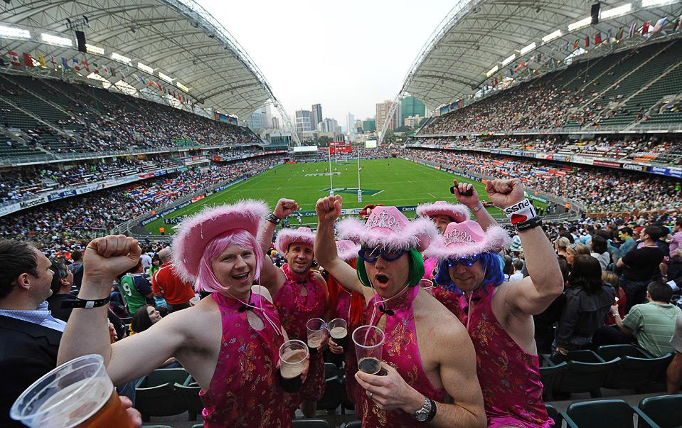 Hong Kong Sevens rugby tournament - Big Shots - Boston.com