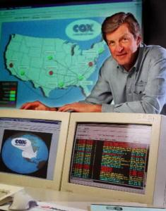 James Robbins 65 Helped Build Cox Into Cable Giant The