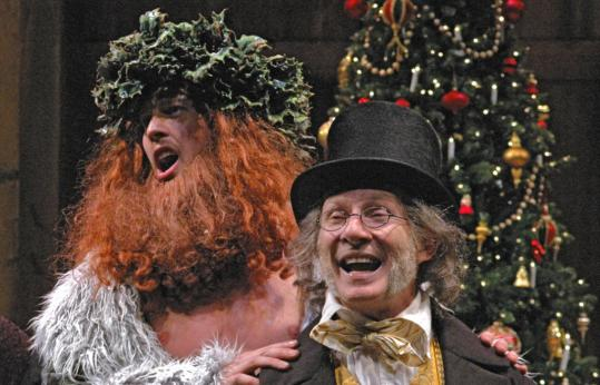 Ghost Of Christmas Present Costume.A Spirited Christmas Carol From Trinity Rep The Boston Globe