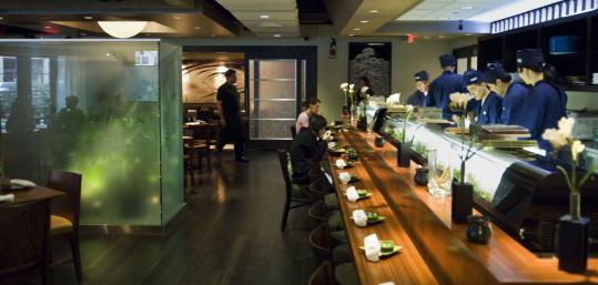 Haru In The Prudential Center Is A Fresh Face On The Sushi