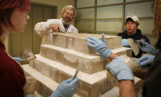 A new angle on pyramids - The Boston Globe