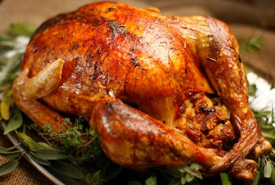 Roast Turkey With Gravy The Boston Globe