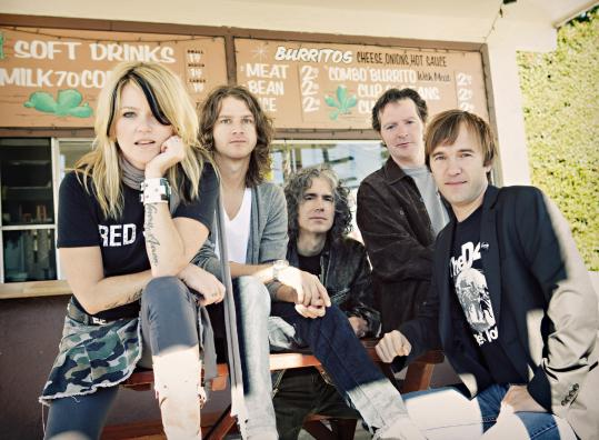 Letters to Cleo (from left, Kay Hanley, Stacy Jones, Joe Klompus, Greg ...