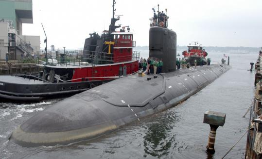 Electric Boat Wins 14b Deal For 8 Submarines The Boston
