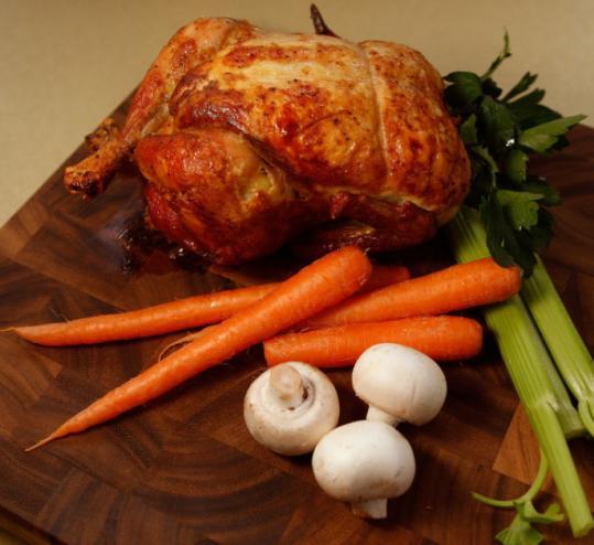 Leftover Roast Chicken Soup Recipe