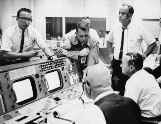 Paul Haney, voice of NASA mission control - The Boston Globe