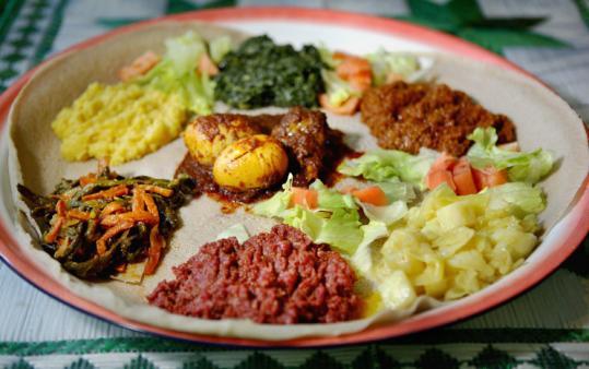 Desta Kitchen Menu