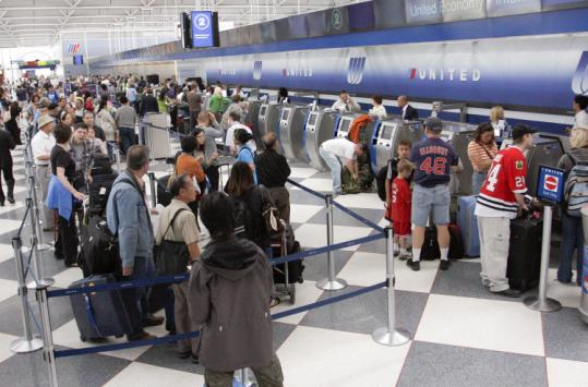 Computer Woes Delayed United Flights The Boston Globe