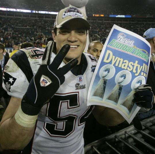 Patriots Bruschi Is Set To Announce His Retirement The Boston Globe
