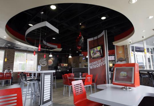 Burger King hopes to build style, traffic - The Boston Globe