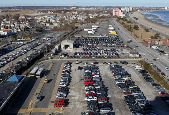 A New Parking Garage At Wonderland Station And Potential Suffolk Downs Could Be