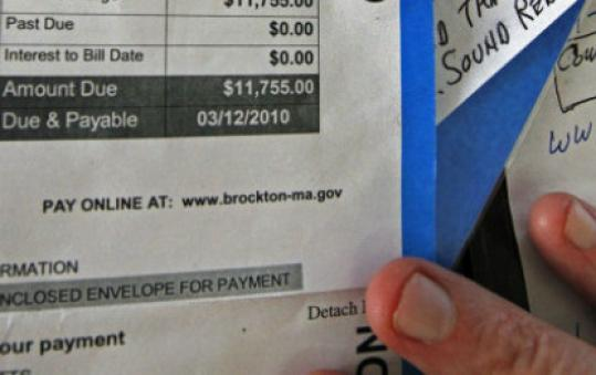 Brockton's bid to correct water mischarges stirs outcry - The Boston