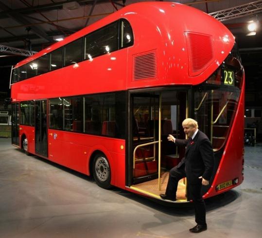 Image Gallery inside double decker bus