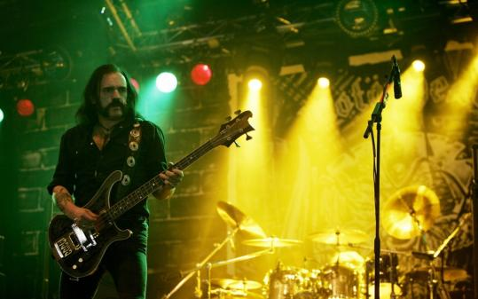 Q&A with Lemmy Kilmister of Motörhead, who still rocks hard