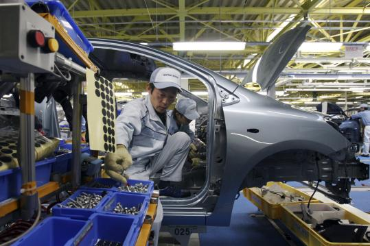 Car Plant Closures Extended In Japan The Boston Globe
