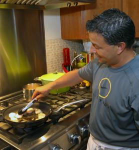 Joe Cordeiro is a police officer/cooking connoisseur who's