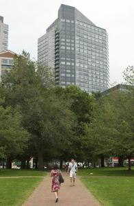 Lawsuit offers view of sound and fury high above Boston