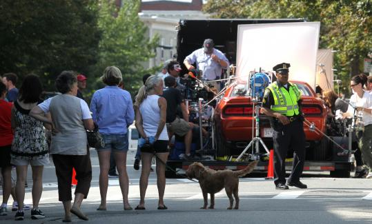 "Boston's Charlestown neighborhood abuzz with filming of ""R I P D"
