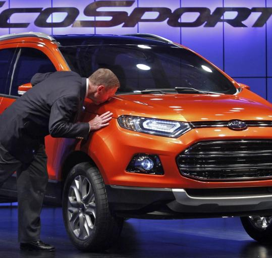 ford s climbing sales lift its stock price the boston globe. Black Bedroom Furniture Sets. Home Design Ideas