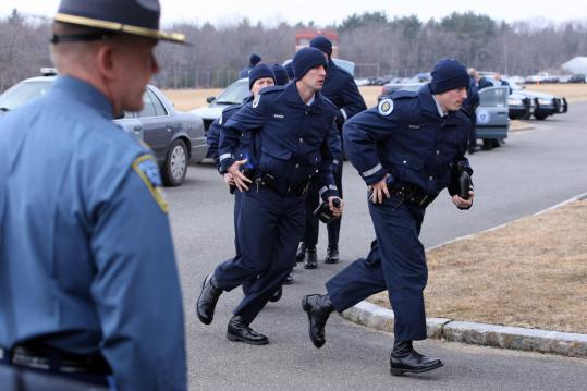 State Police trainees reenact real-world perils - The Boston