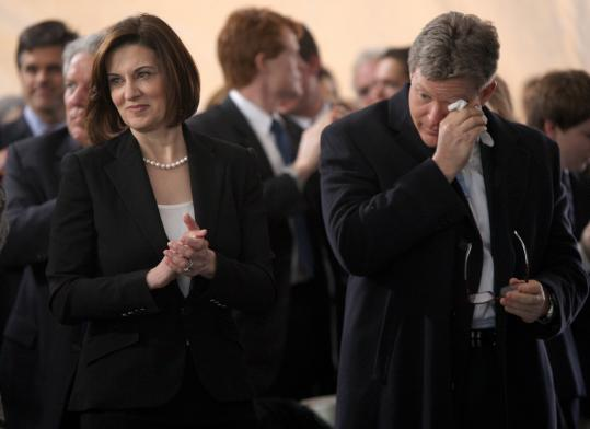 Kennedys Widow Sons At Odds Over Legacy The Boston Globe
