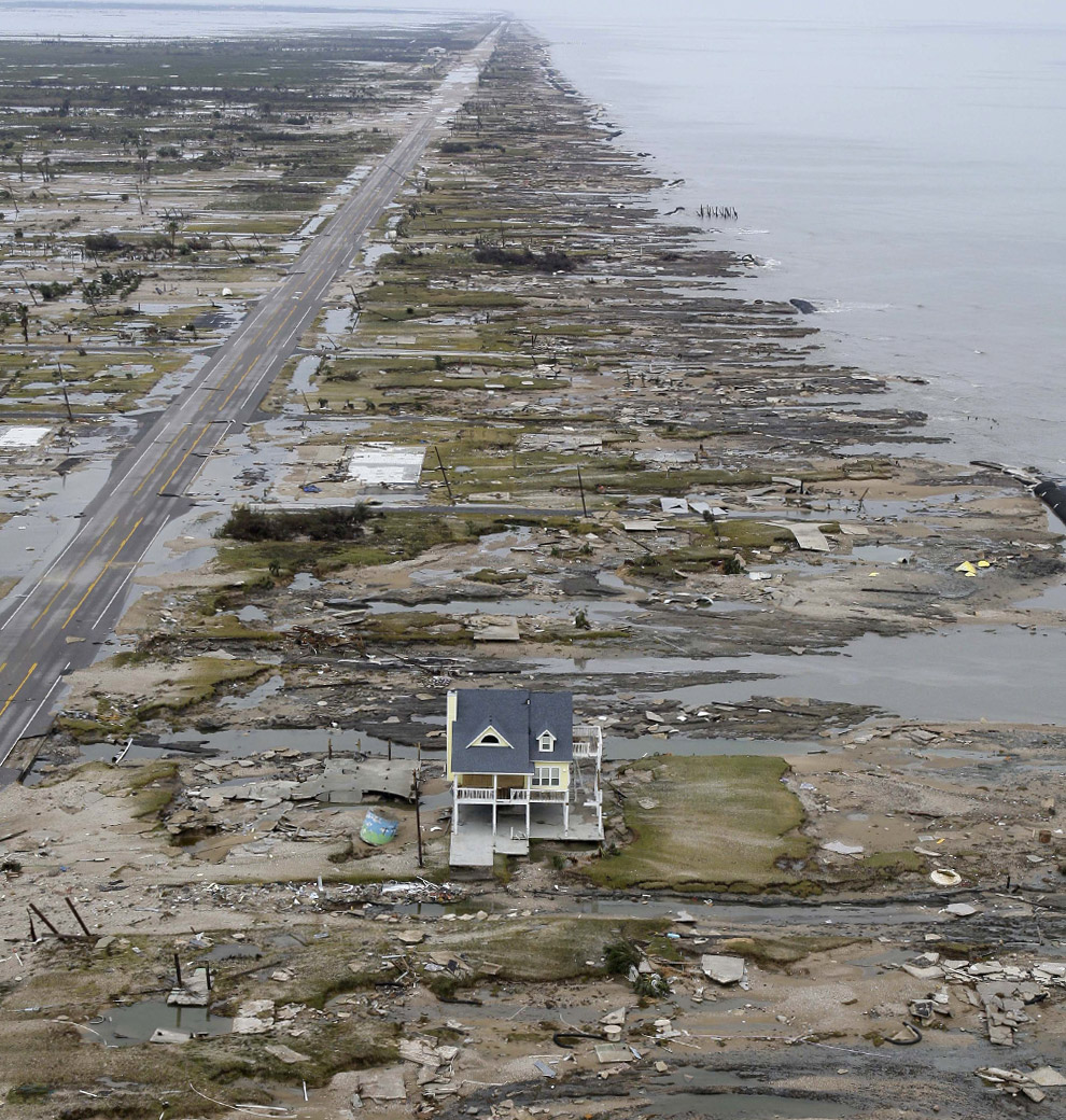 The Destruction Of Gilchrist Texas
