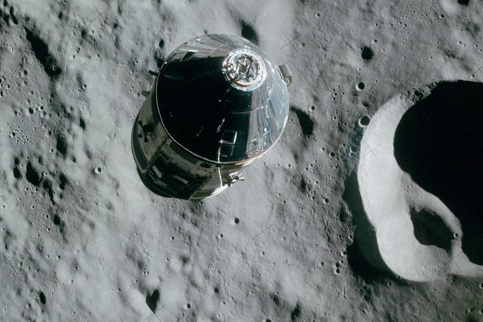astronaut in orbit 1972 - photo #5