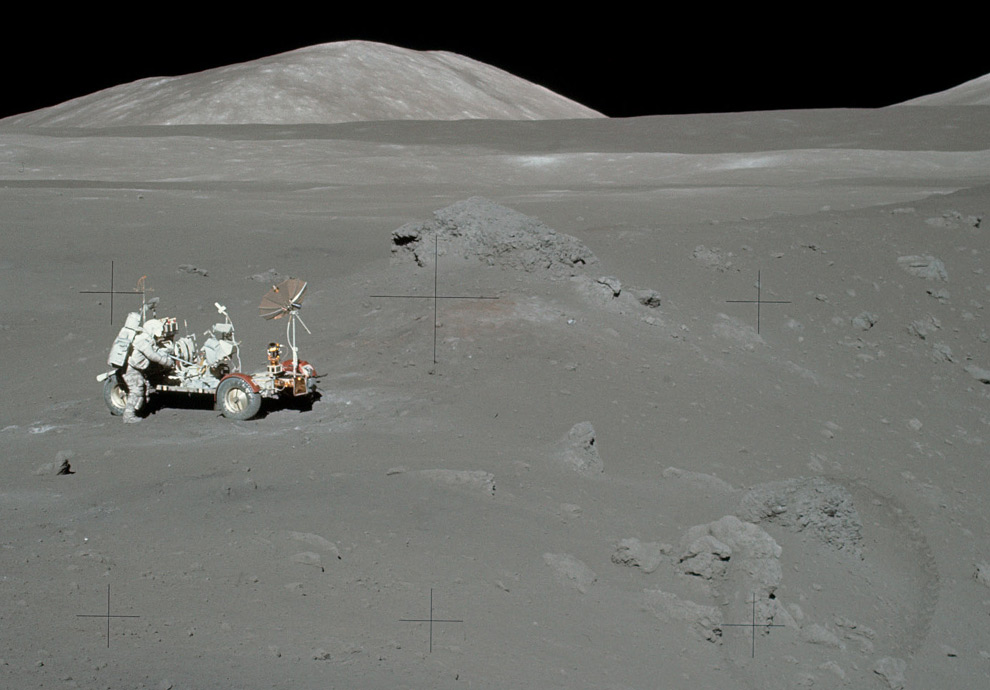 Man on the Moon, Future and Past - Photos - The Big ...