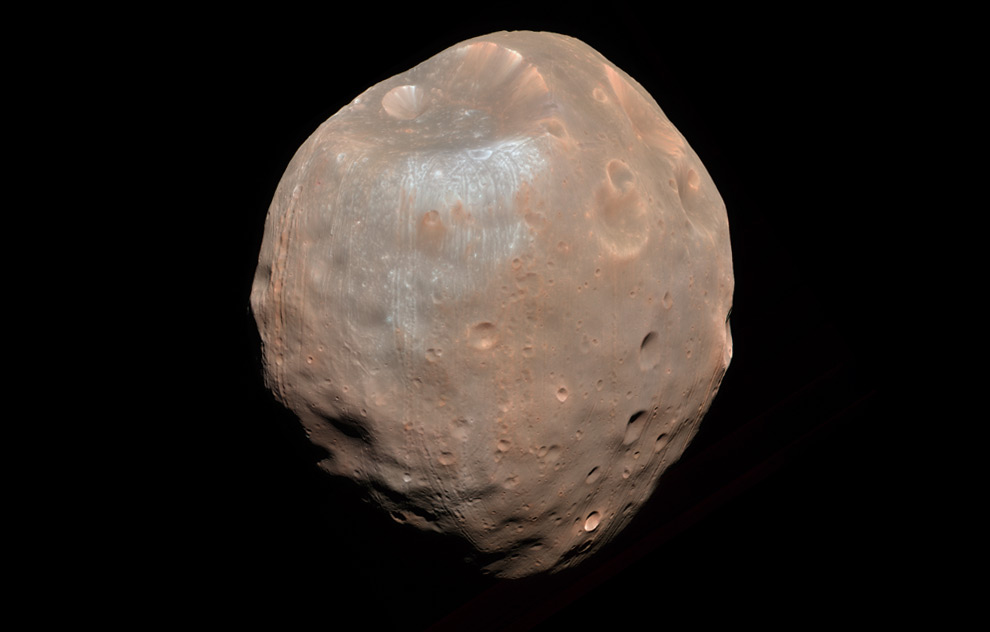 mars phobos from mars view - photo #26