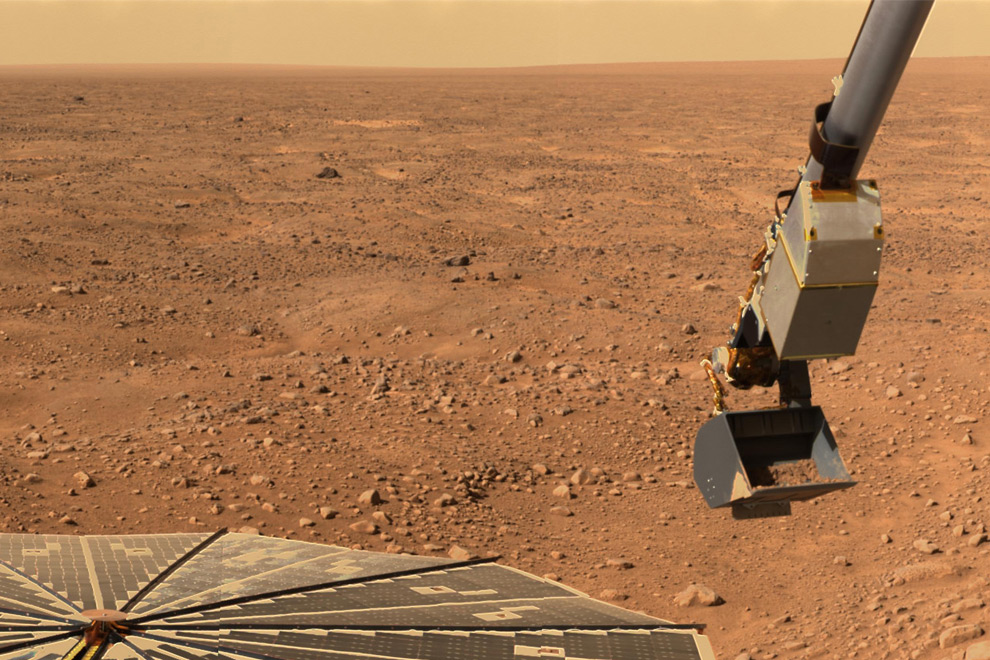 Actual Mars Surface (page 3) - Pics about space