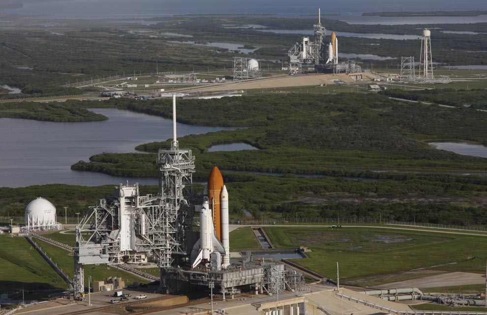 Space Shuttle Launch Pad Water - Pics about space