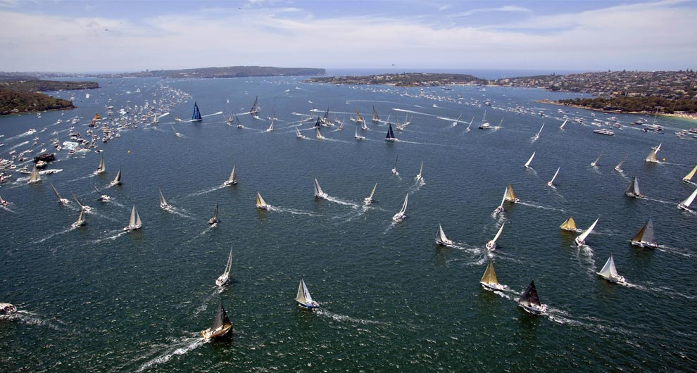 Sailing, around the world - Photos - The Big Picture